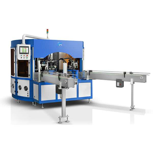 sxae-408 Servo Rotary 6 Colors Pad Printing Machine For Glass and Stainless Steel Containers